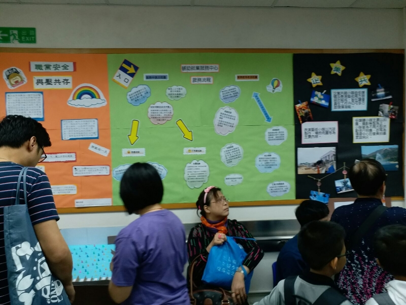 香港傷健協會港島傷健中心服務流程表