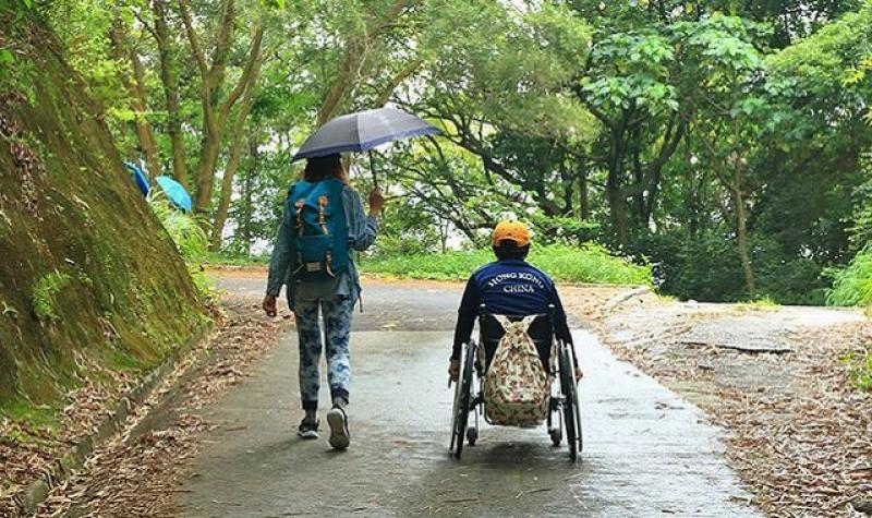 【跳出輪椅框框】推「無障礙郊遊路線」 行山網主:傷殘人士有接近自然權利