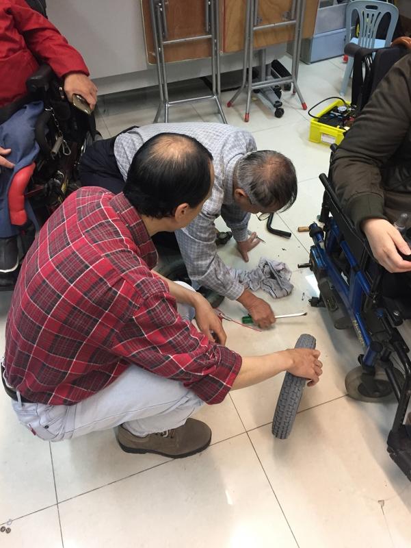 復康資源 - 維修電動輪椅