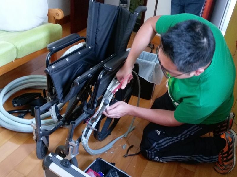 復康資源 - 維修手推輪椅