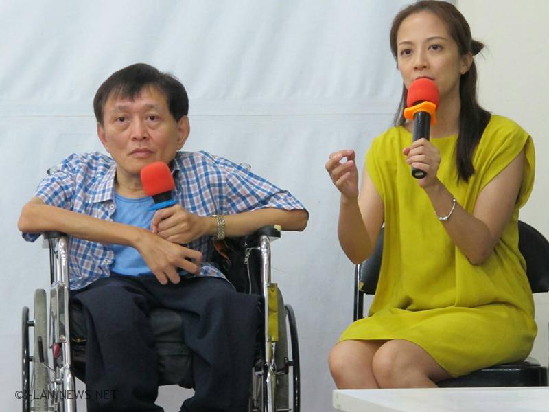 輪椅小巨人用樂觀照亮生命