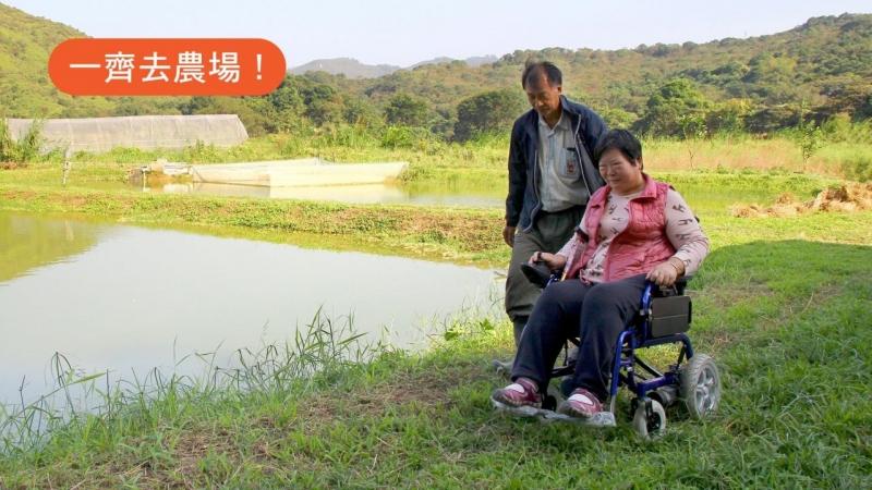 【坐着轮椅去旅行】农夫自费改建农场 NGO组团本周日往摘菜喂鱼