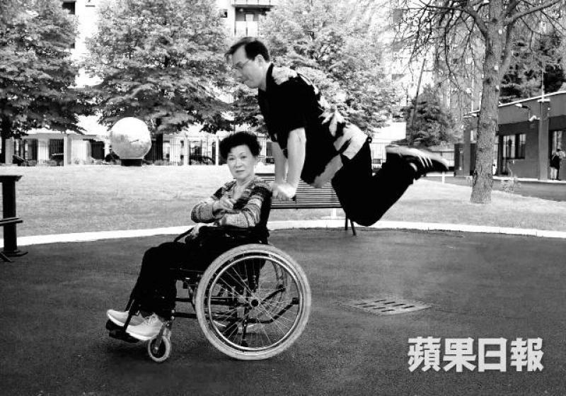 關玲玲中風後沒有自怨自艾,反而霸氣拋下一句:「我就不相信,中風後一定要坐輪椅