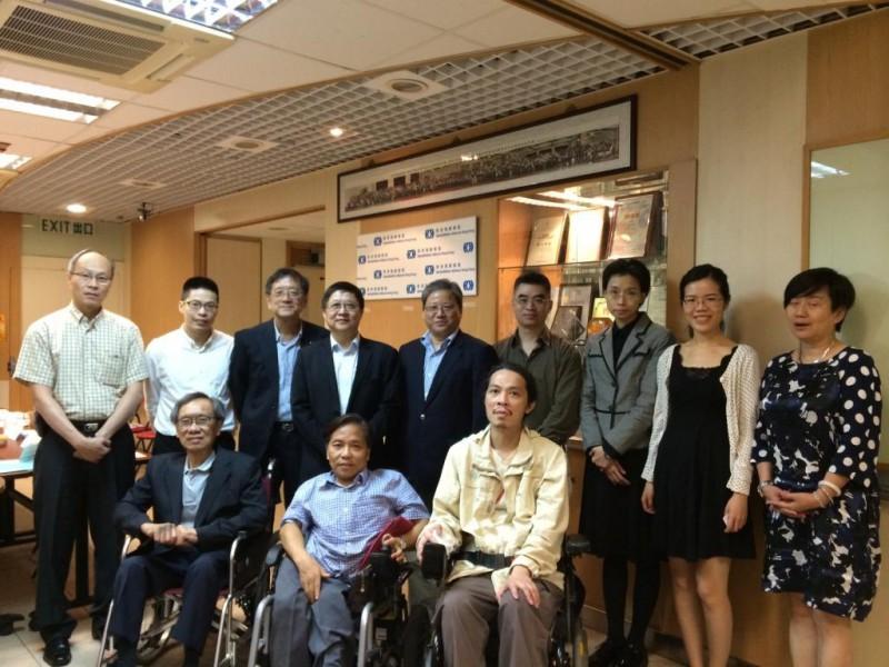 平機會主席陳章明教授到訪康盟
