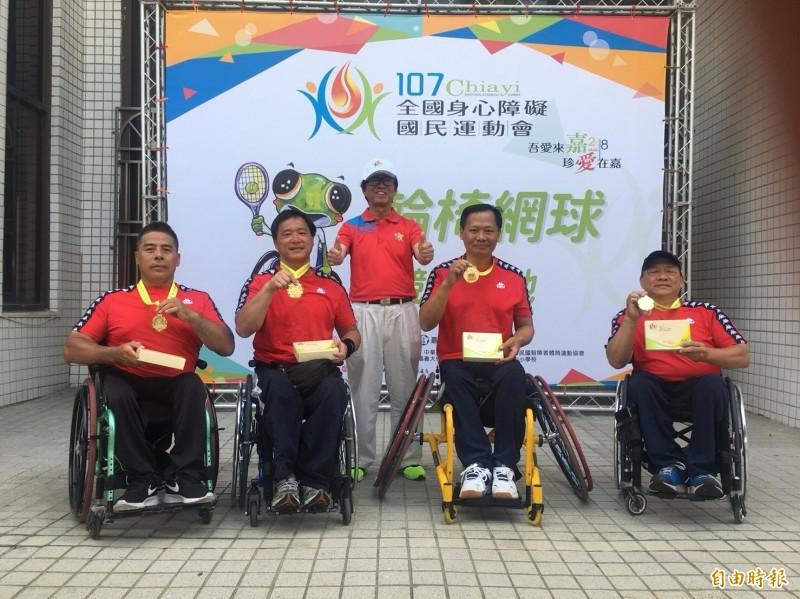 竹市全國身障運動會奪九金四銀三銅 前三名獎勵金都加碼提高