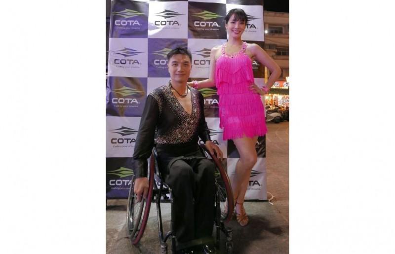 藝人湘瑩森巴開場 第二屆國際輪椅舞蹈賽登場