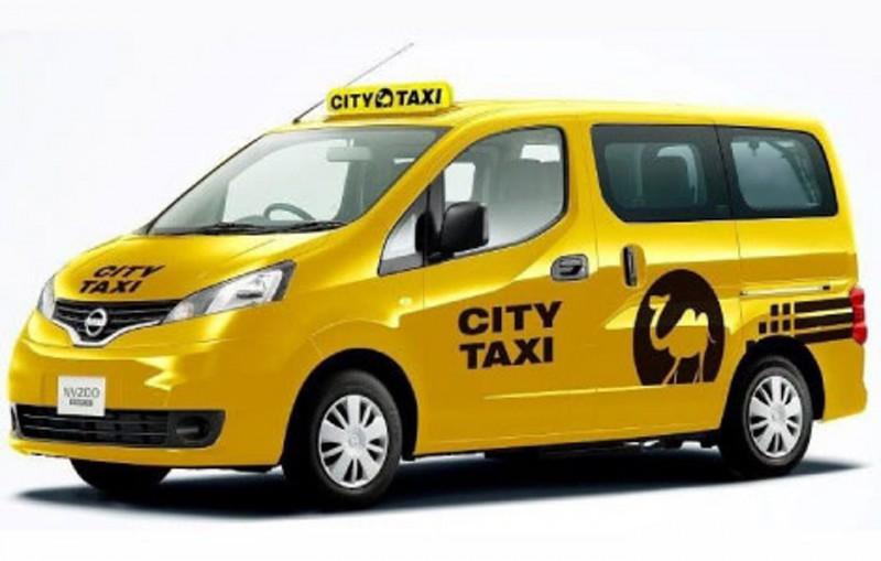 「通用設計的士」的外型,車身採用了顯眼的黃色,同時備有黑色