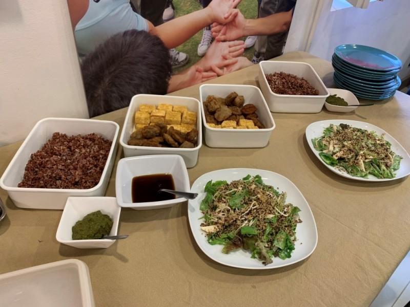 低碳素食午餐