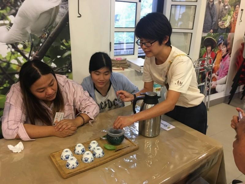 香草茶製作