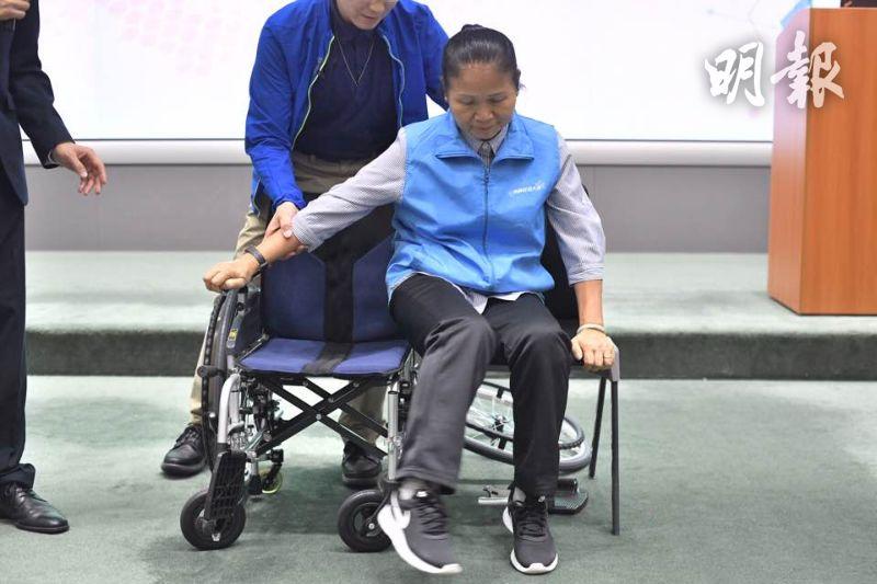 可360度移動的「Sideway六輪輪椅」