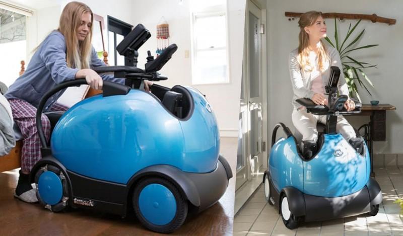 日本長野縣世界健康首都會議 輪椅機器人 RODEM 開放試乘體驗