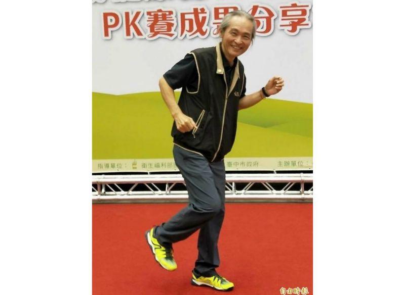 66歲的蘇銘勳一個月走上696公里運動,獲得里程冠軍