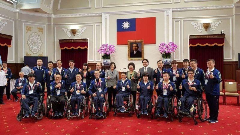 今年亞洲帕運會台灣派出89名選手參賽,在11個競賽中獲得2金、9銀與14銅的好成績