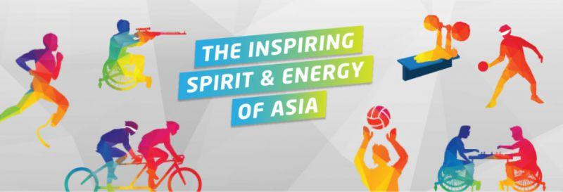 亞洲帕拉運動會被喻為亞洲最高等級的身心障礙賽事,今年主要口號為「亞洲的能力」,總共以五種顏色呈現