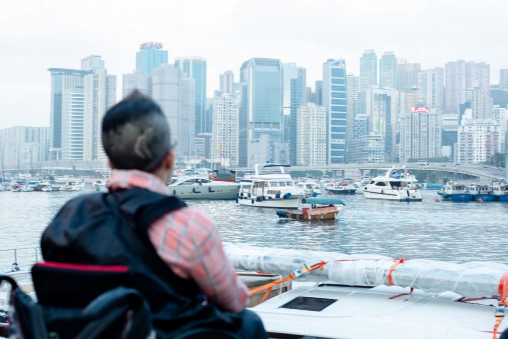 輪椅人士平日外出甚艱難,即使做足資料搜集,也未必保證可以到達目的地