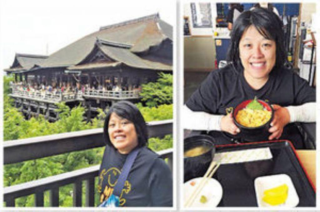 到京都清水寺遊覽、嘗日式海膽飯,即使困難,但素嬣亦能做得到