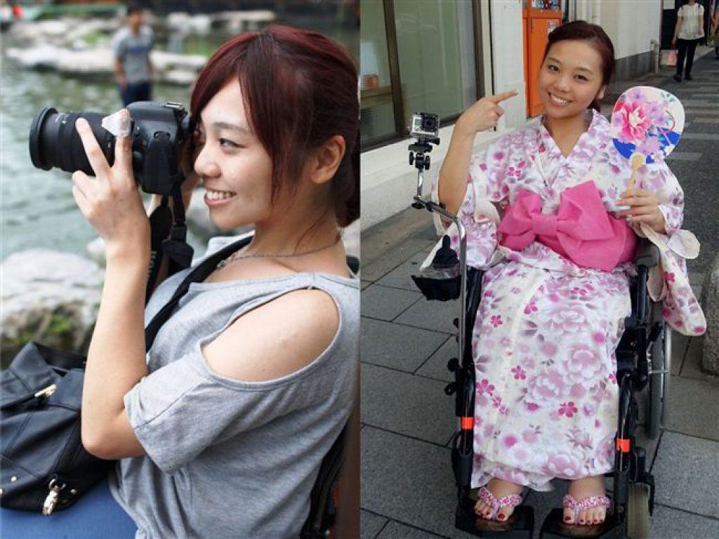 林欣蓓喜歡體驗不同的世界,從旅行中找到更多樂趣