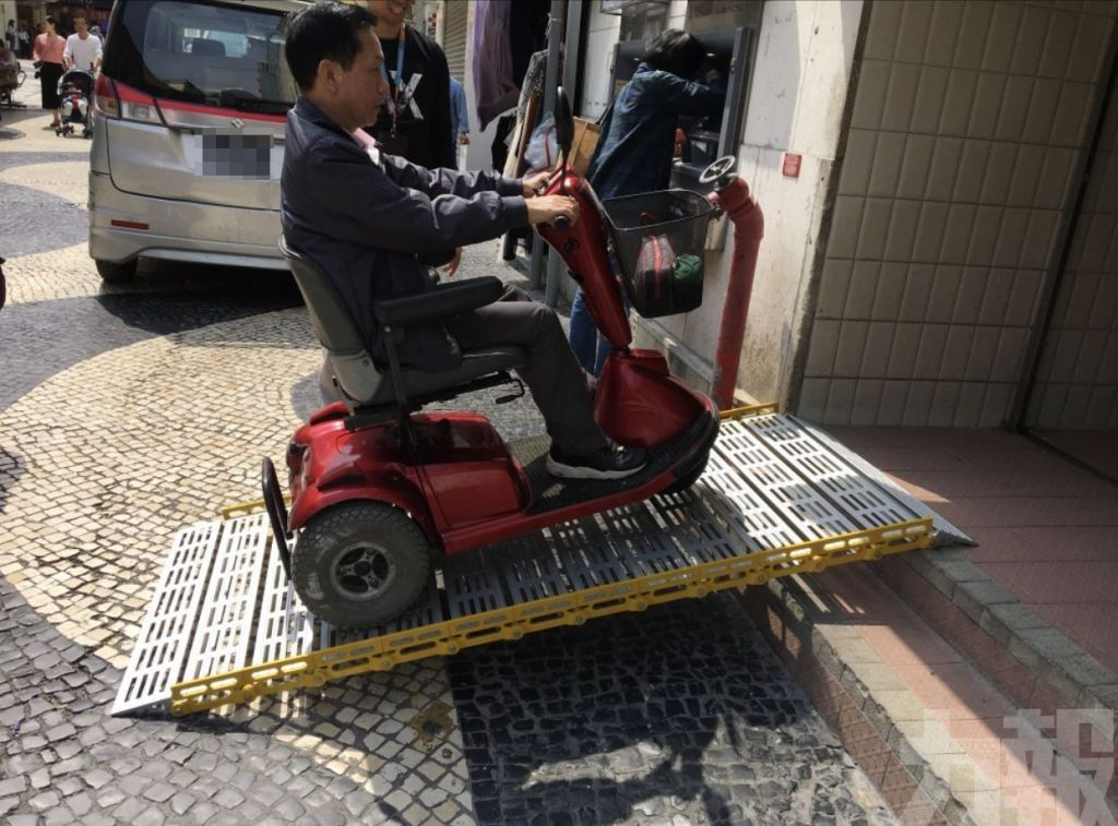社工局優化無障礙設備 - 便利肢障人士出行