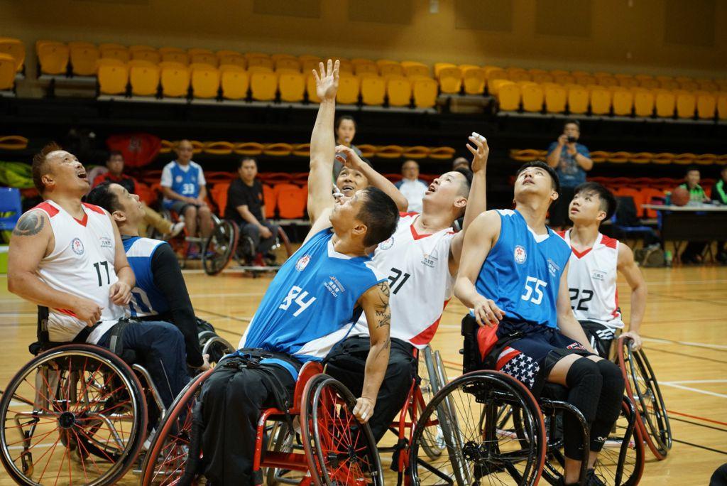 港島東奪得第七屆全港運動會 — 輪椅籃球挑戰賽季軍