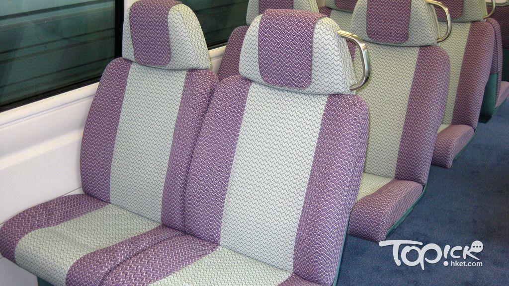 港鐵對上一次翻新機鐵座椅,是2008至09年