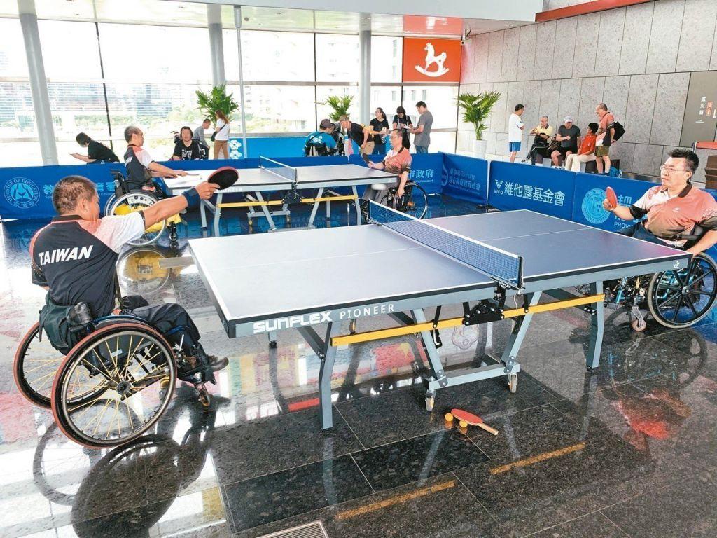 「2019年亞洲身心障礙桌球錦標賽」7月23日在台中開打,全球277名選手參加,爭取2020年夏季帕拉林匹克運動會資格門票。