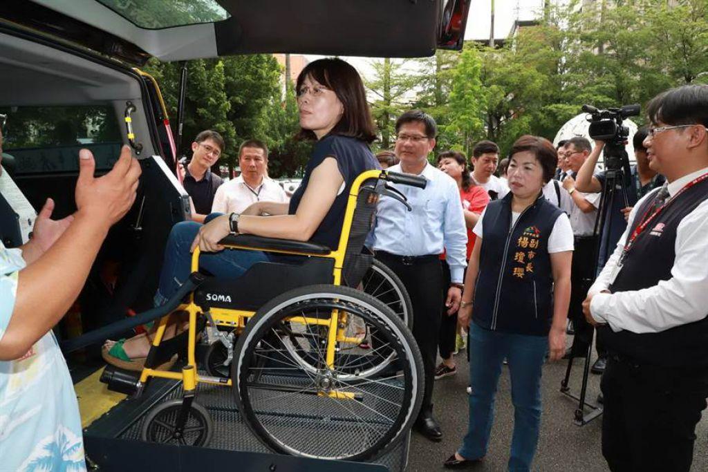 中市爭取無障礙計程車補助 林佳龍:研議獎勵