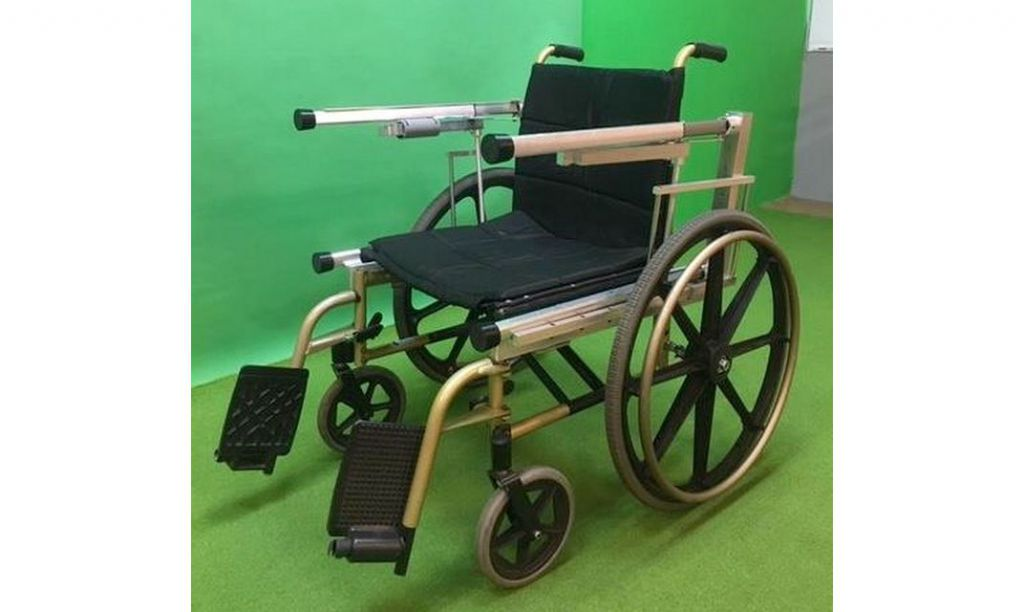 行動輔具與輪椅一體成型 輪椅族可以輕鬆站起來!