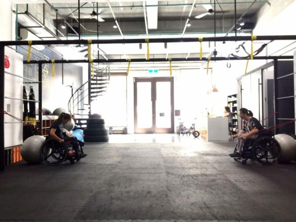 要推輪椅馬拉松,必須要加強上臂力量