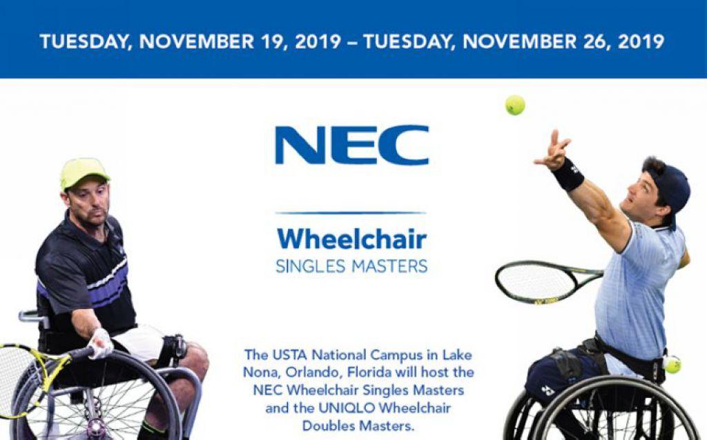 """第26屆輪椅網球世界錦標賽""""NEC Masters""""即將舉辦"""