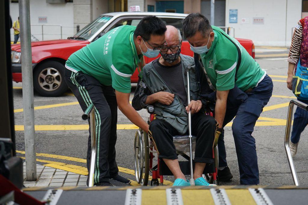 區區無障礙復康服務 非一般巴士車長:有同理心好重要