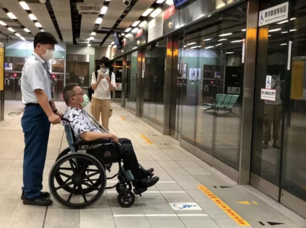 高捷將全面改善月台間隙 身障團體肯定