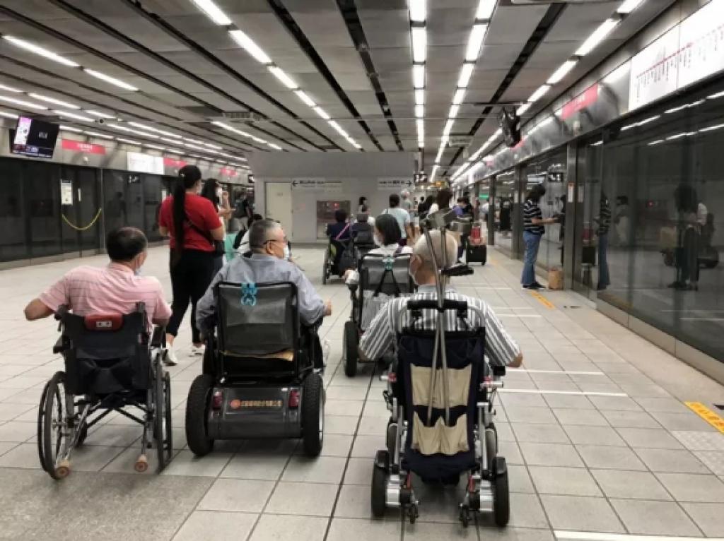 高齡化時代來臨,輪椅族人數將日益增多。