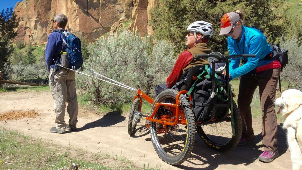 冒險輪椅的演變