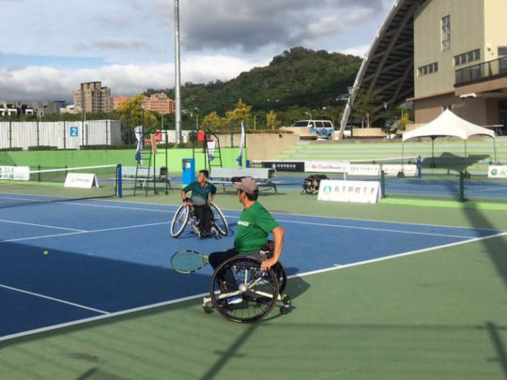 國際網球總會授權帕運賽事 勝利盃輪椅網球台灣公開賽台中開打