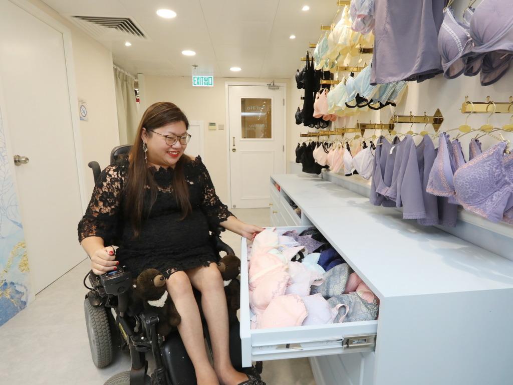 無障礙內衣店 HaFiNa - 重拾殘疾女性尊嚴