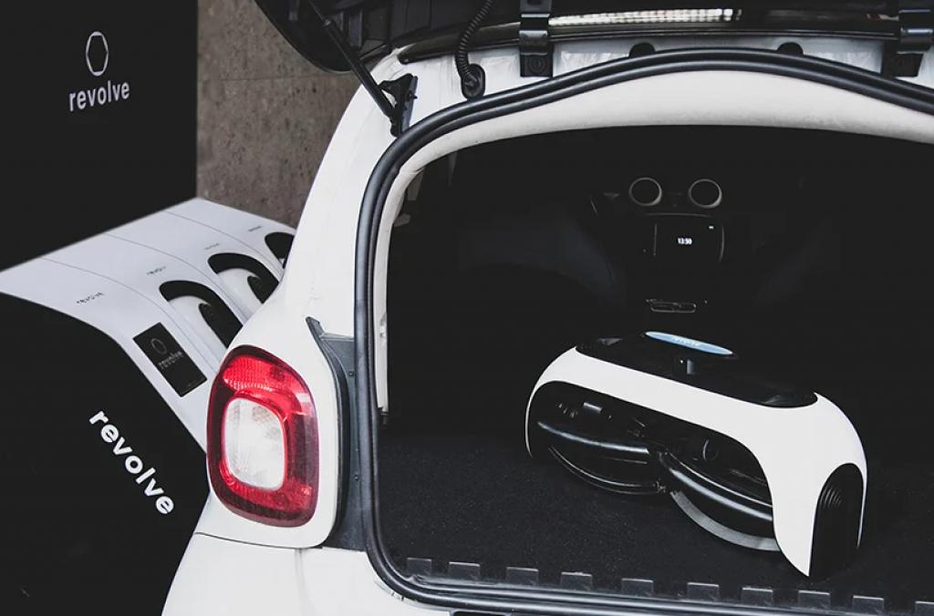 其設計容許輪椅可以安裝在智能汽車的後部