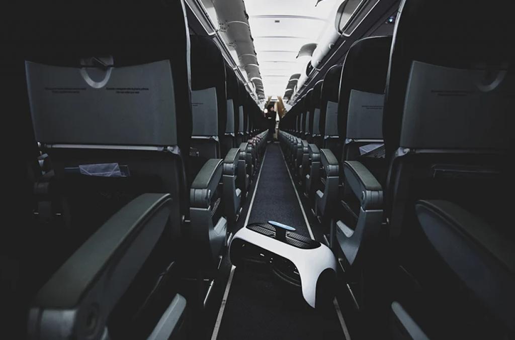折疊後,Revolve Air 最多可節省60%的空間