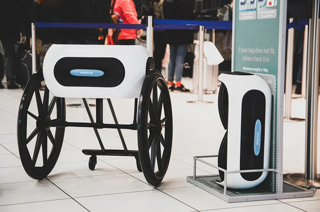 Revolve Air 是可折疊的輪椅,甚至適合隨身行李