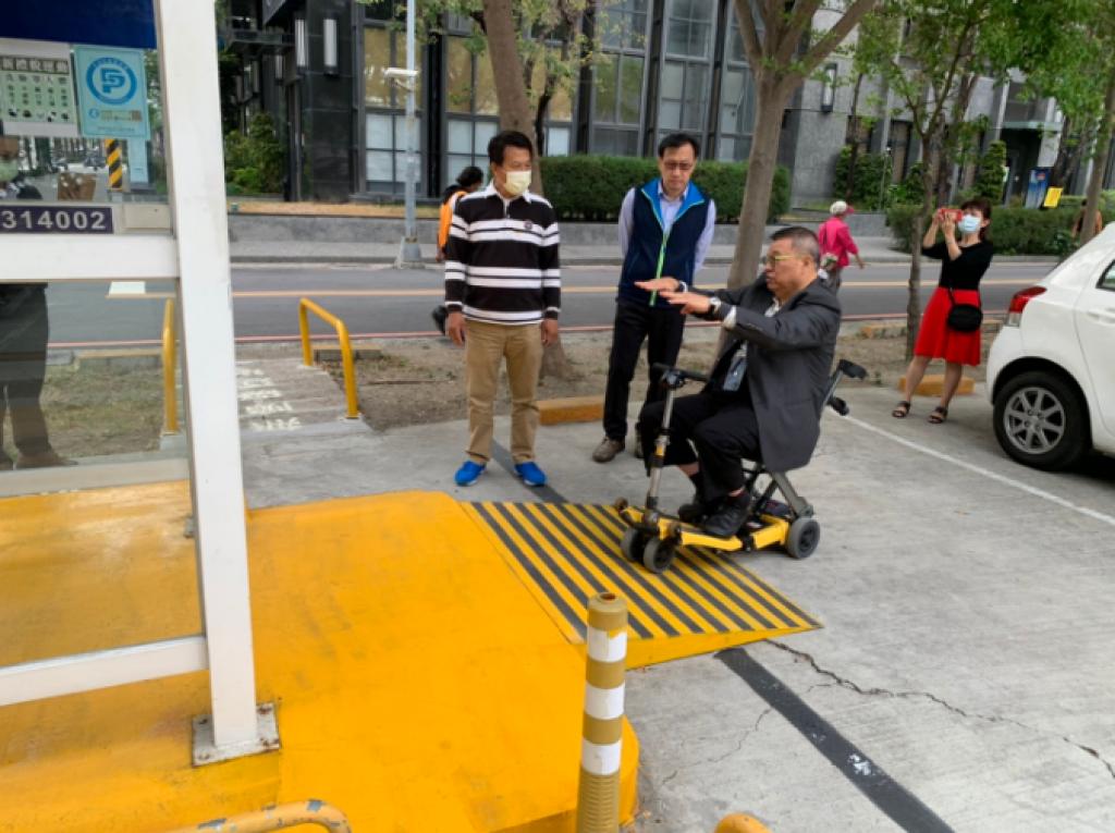 從心出發!高市府全面營造路外公共停車場無障礙環境