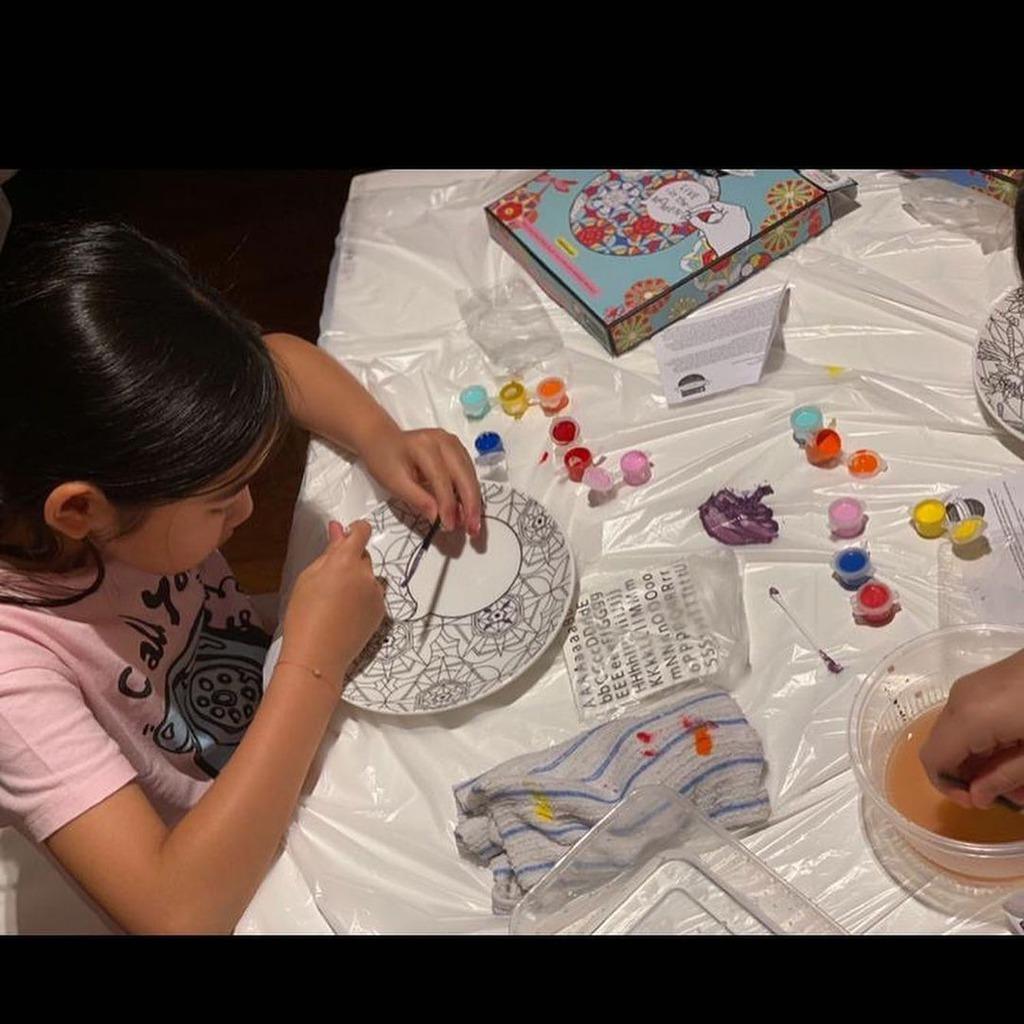 黎姿著重培養女兒的藝術天份。(IG圖片)