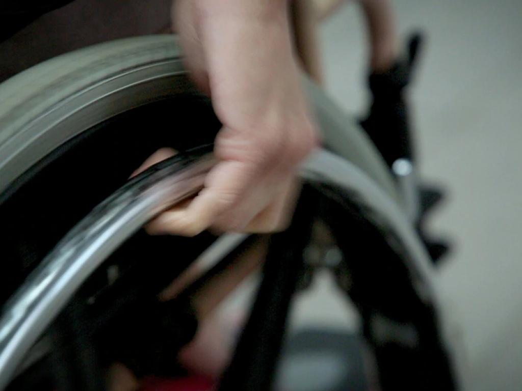 輪椅上的人,其實也可活出精彩人生。
