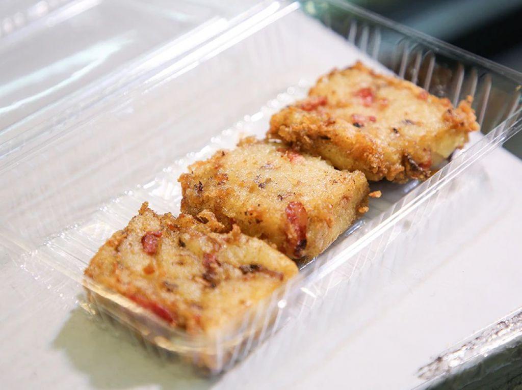 坊間少見的潮式瑤柱薯仔糕($20/3件、$138/底),也是Nikita的獨賣招牌菜。「我家是潮州人,但不是所有潮州人都識煮薯仔糕,香港也不常見到。」