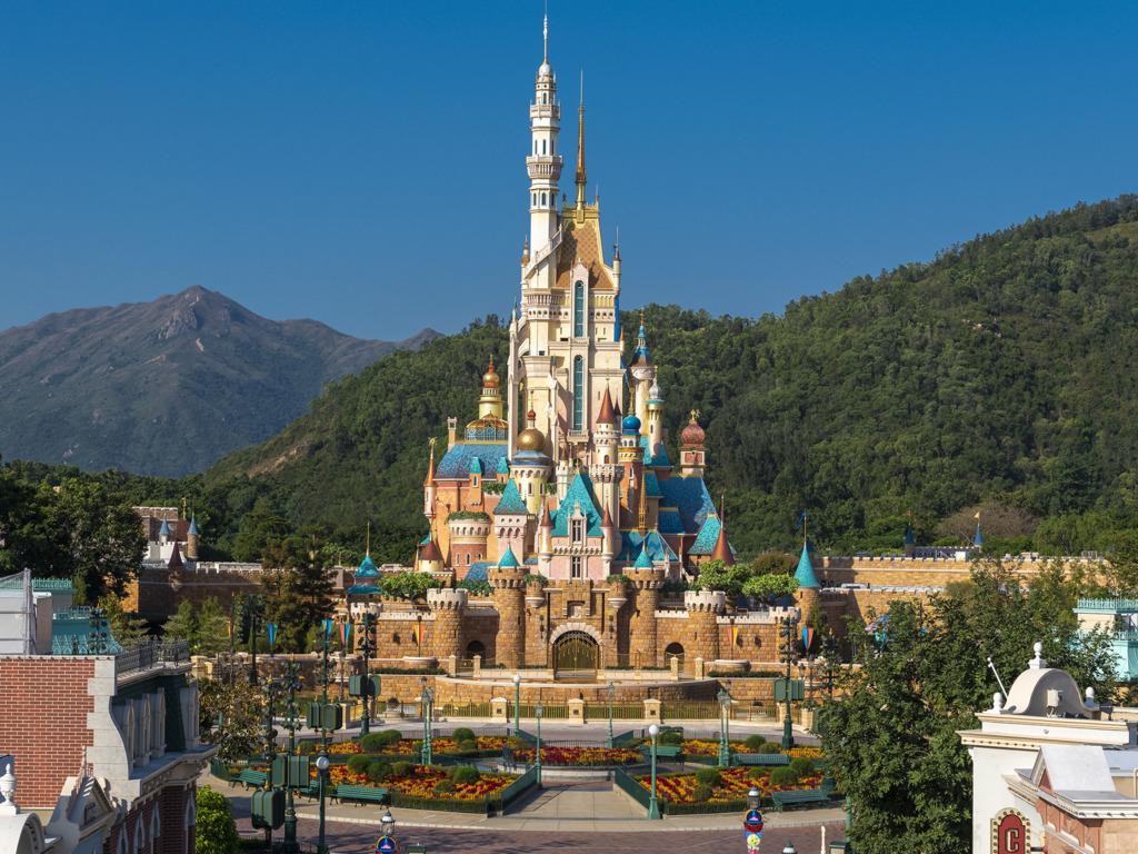 香港迪士尼樂園新城堡「奇妙夢想城堡」。