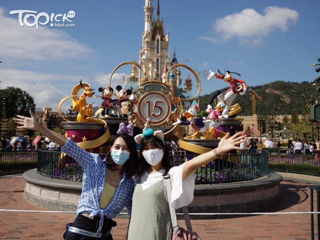 香港迪士尼樂園。