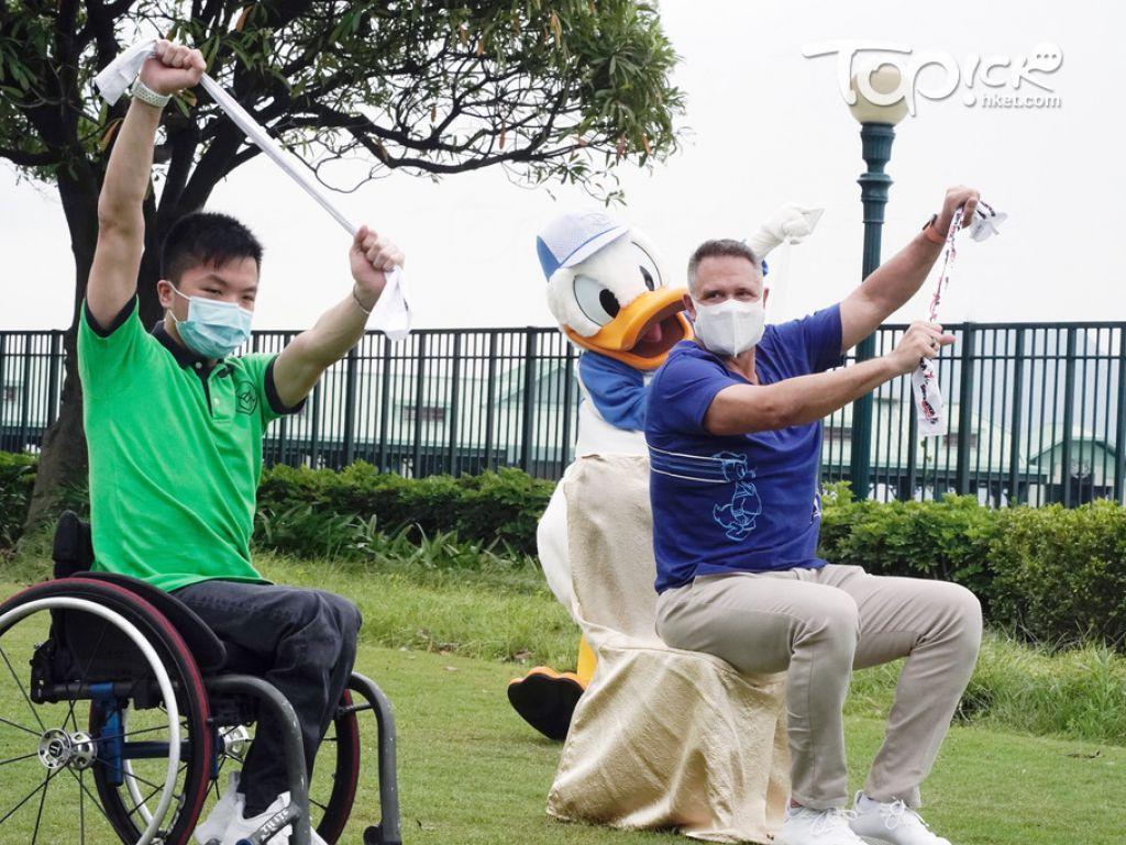 香港迪士尼樂園將推出短片,推廣普及運動及傷健共融。