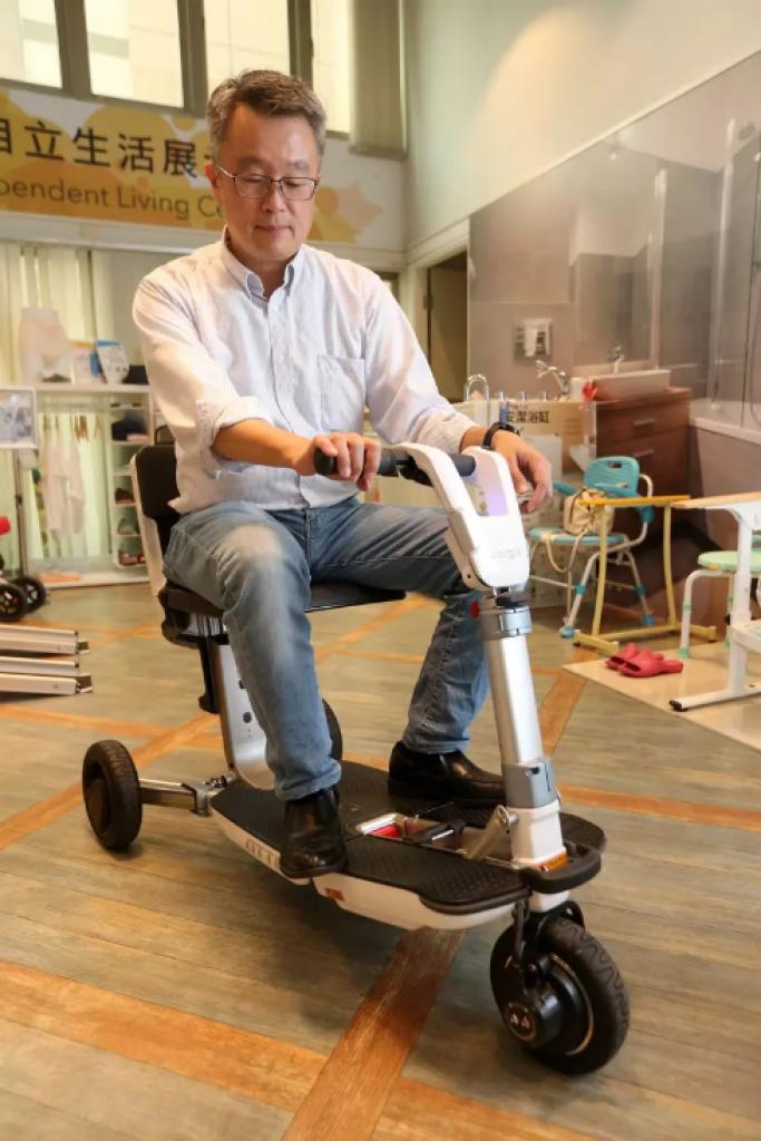新世代電動代步車。