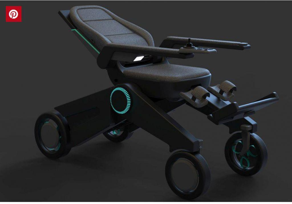 這款可折疊輪椅具有高度可調功能,可幫助用戶更加獨立