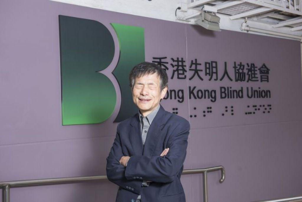 莊陳有批評公務員招聘過程有一道無形的「玻璃門」窒礙視障人士加入政府。