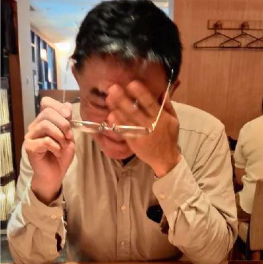 松浦回想照護的過程,很艱辛。