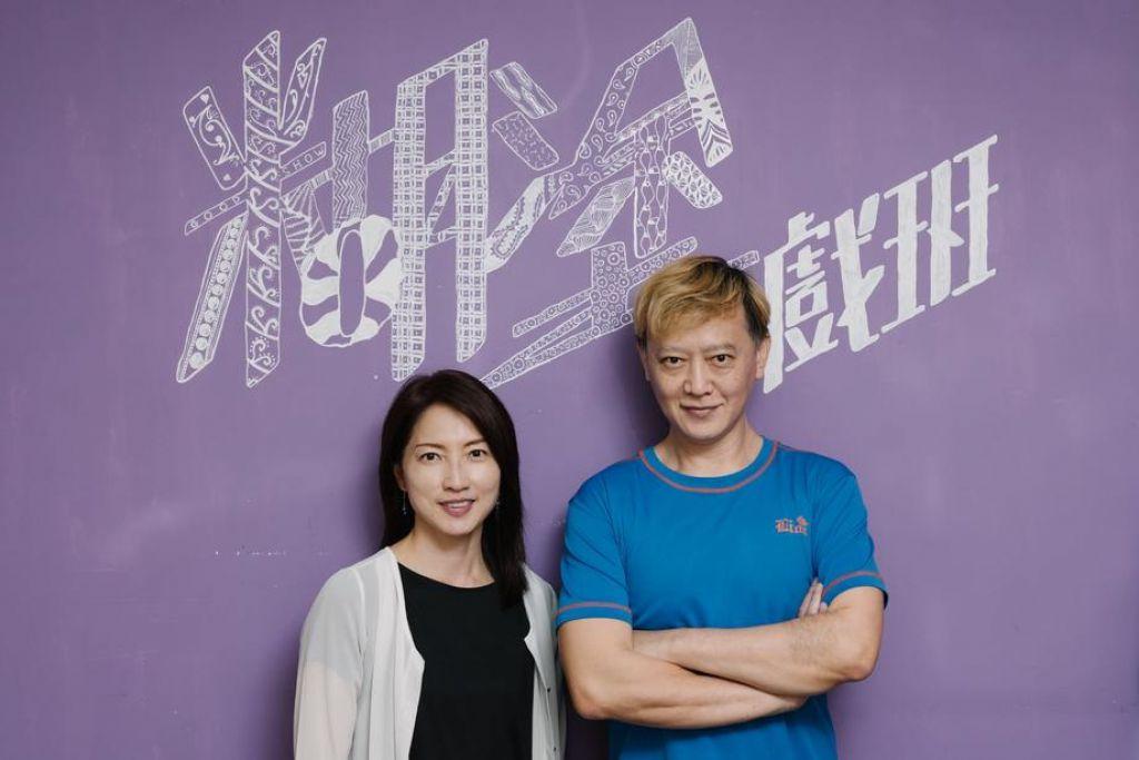魏綺珊(左)與陳文剛(右)早於 2013 年創立「無障礙劇團」——借助戲劇的媒介,讓障別人士與健全人士站在同一舞台上